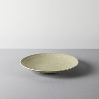 ROUND DISH _ 03 _ YELLOW