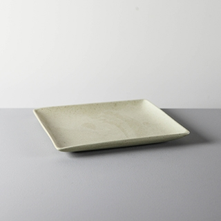 SQUARE DISH _ 03 _ YELLOW